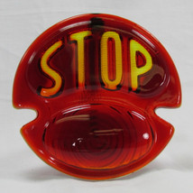 """STOP"" DUOLAMP (1928 - 1931) Ford Model A Tail Light - GLASS LENS ONLY - Harley Motorcycle Chopper Bobber Cafe Racer"