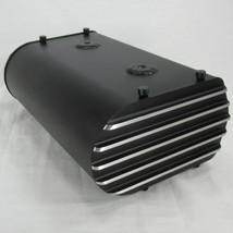 "Motorcycle Electronics Box ""E-Box"" - LARGE - BLACK - Custom Fabricated 6061 Aluminum Powder Coated Textured Black - Bobber Chopper Cafe Racer - Harley Honda CB CX Kawasaki KZ Yamaha XS Suzuki GS"