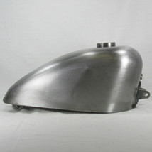 1982 - 1994 Harley Sportster OEM Style Gas Tank With Early Cam Style Bayonet Gas Cap Bung - Steel - 2.25 Gallon Capacity - 22mm Petcock Bung - Motorcycle Chopper Sporty Bobber Cafe Racer Fuel Cell Petrol