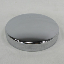 1936 - Early 1973 OE Harley Chrome Vented Motorcycle Gas Tank Cap Bayonet CAM style - Replaces HD 61103-36 - Chopper Bobber Cafe Racer
