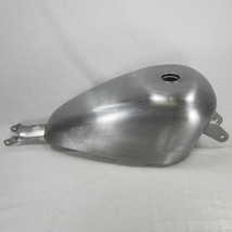 "2004 - 2006 Harley Sportster OEM Gas Tank With Screw-In Style Gas Cap Bung - Steel - 2.2 Gallon Capacity - 22mm Petcock Bung - Motorcycle Chopper ""Sporty"" Bobber Cafe Racer Fuel Cell"