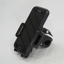 "Adjustable Motorcycle Cell Phone GPS Mount Holder - Fits up to 1-1/4"" Handlebars - Harley Chopper Bobber"