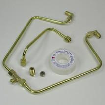 OLD-STF - Brass Rocker Box Split Oil Line for 1966-1984 Harley Shovelheads  - MADE IN THE USA