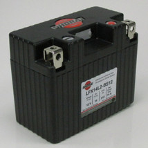 LFX14L2-BS12 Shorai LFX Lithium Iron Light Weight High Performance Motorcycle Battery for Dirt Bikes and Street Bikes up to 600cc - 14 Ah 12 Volt 1.5 Pounds 210 CCA - LEFT SIDE NEGATIVE TERMINAL - 5 YEAR WARRANTY!