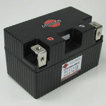 LFX19A4-BS12 Shorai LFX Lithium Iron Light Weight High Performance Motorcycle Battery for Street Bike Motors Larger than 600cc - 19 Ah 12 Volt 2.5 Pounds 285 CCA - RIGHT SIDE NEGATIVE TERMINAL - 5 YEAR WARRANTY!