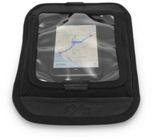 Burly Brand Voyager Magnetic Map Tank Pad Screen Cell Phone / GPS Holder in Black - Made from Durable 1000-denier CORDURA fabric - MADE IN THE USA