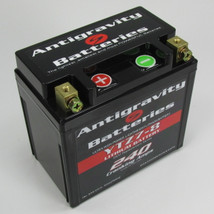 Antigravity Batteries - Lightweight Motorcycle Lithium Ion Battery - OEM Case 8 Cell YTZ7-S YTZ7-8 LEFT SIDE POSITIVE - MADE IN THE USA - 1 Pound 11 Ounces - 240 CCA - Chopper Bobber Cafe Racer Harley