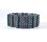 Bengal Bracelet Denim Blue Beading Kit
