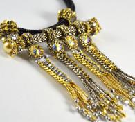 Confetti Pendant Beading Kit Silver & Gold
