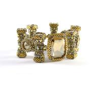 Alley Cat Bracelet Silver & Gold Beading Kit