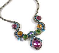 Nine Lives Necklace Beading Kit Nickle & Multi