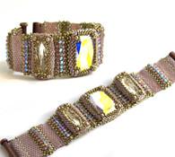 Lily Bracelet Kit *Silver & Pink