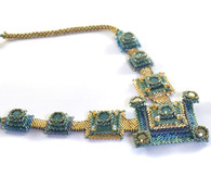 Pixels Necklace Beading Kit *Ocean Blues