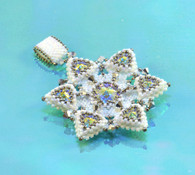 Winter White Pendant Beading Kit