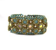 Calico Bracelet Beading Kit *Bronze & Jade