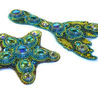 Sea Creatures Beading Kit *Blue & Green