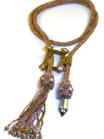 Fiona Lariat Beading Kit *Bronze & Rose Water Opal