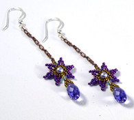 Firework Earrings Free Pattern