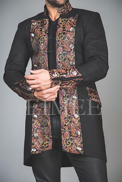 Cotton Shrine Gothic Steampunk Jacket HARRING