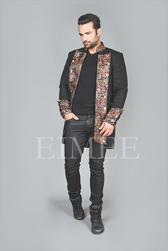 Shrine steampunk mens jacket HARRING