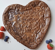 Brownie Heart