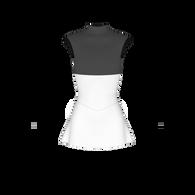 A-line inset skirt pattern, ice skate dress pattern, roller skate dress pattern, dance costume pattern, rhythmic gymnastics costume pattern, lycra sewing pattern, skatewear design system