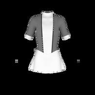 A-line inset skirt pattern, ice skate dress pattern, cheer uniform pattern, roller skate dress, dance costume, rhythmic gymnastics costume, lycra sewing pattern, skatewear design system