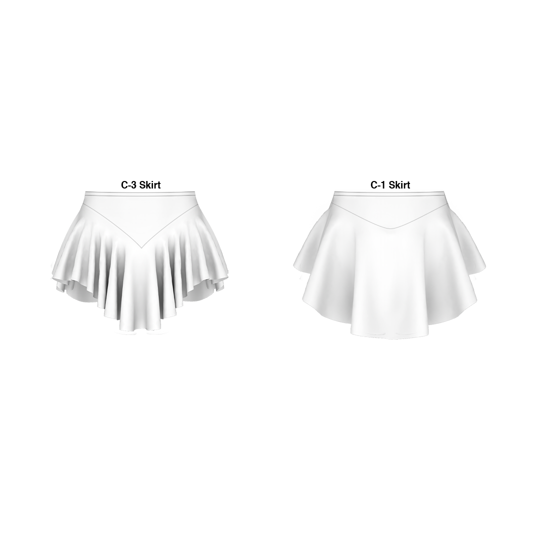 Panty Skirt Traditional Pattern 200-M016