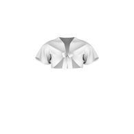 600-605 Flutter Shrug Pattern