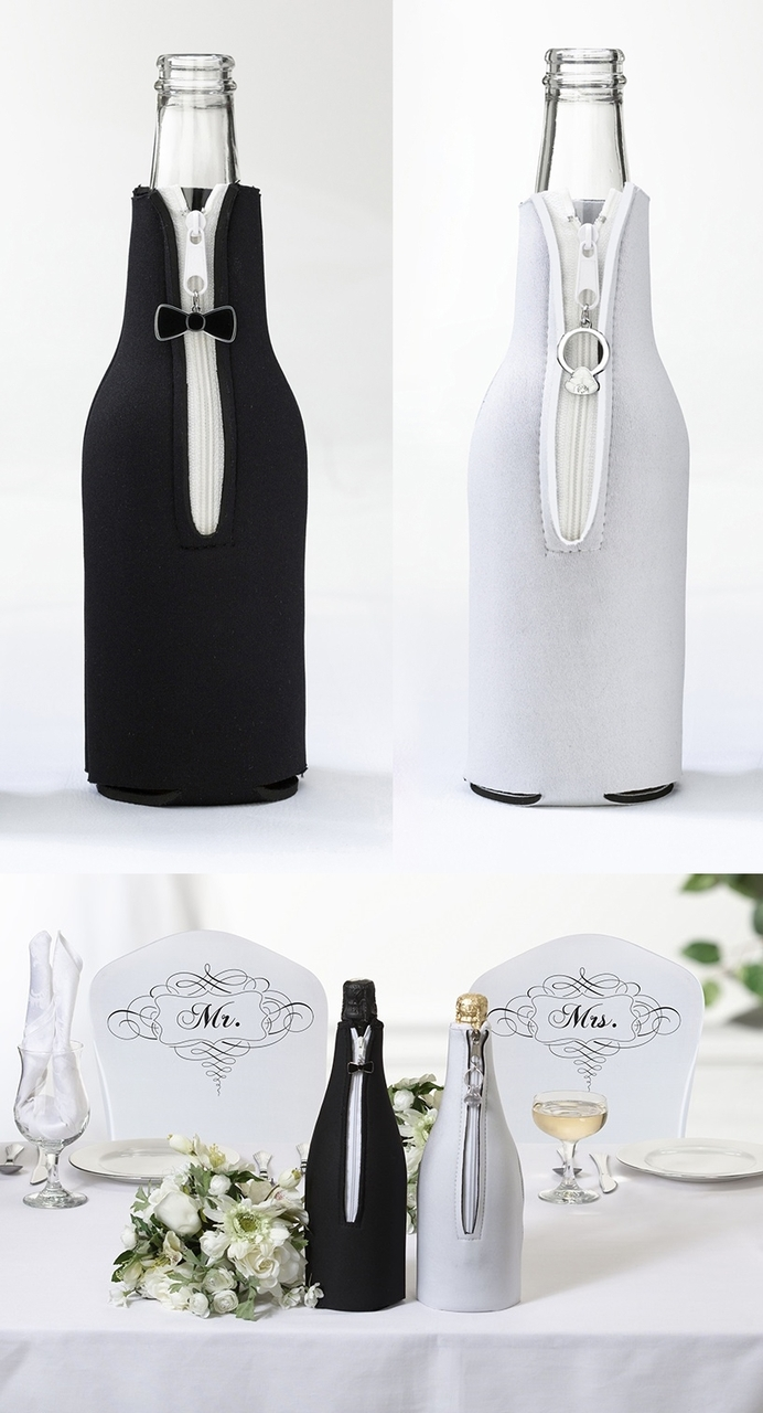 Champagne bottle covers