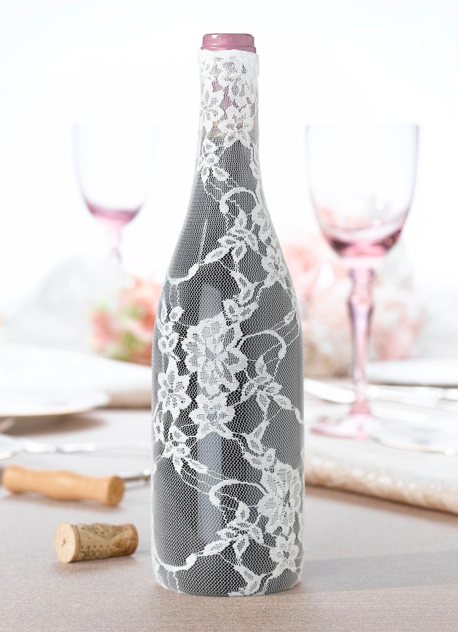 Champagne Bottle Decoration Wine Bottle Decor For Your Wedding Table Gems Wedding Supplies