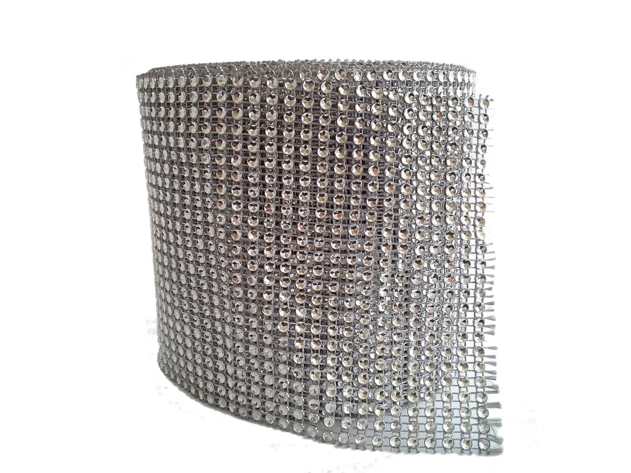 Rhinestone Mesh Decoration