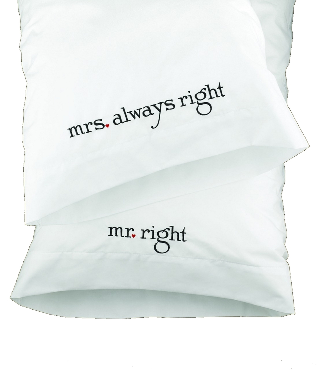 pillow cases wedding gift