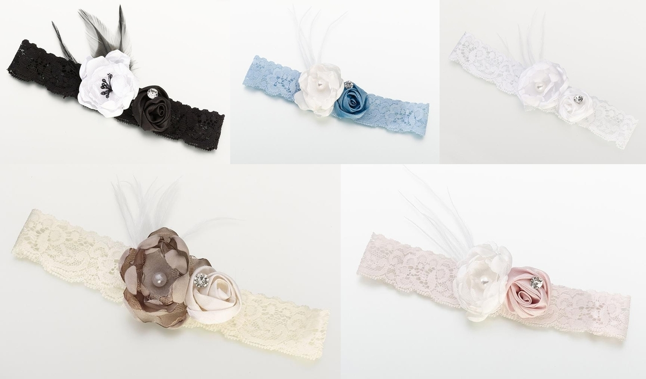 Vintage style garters