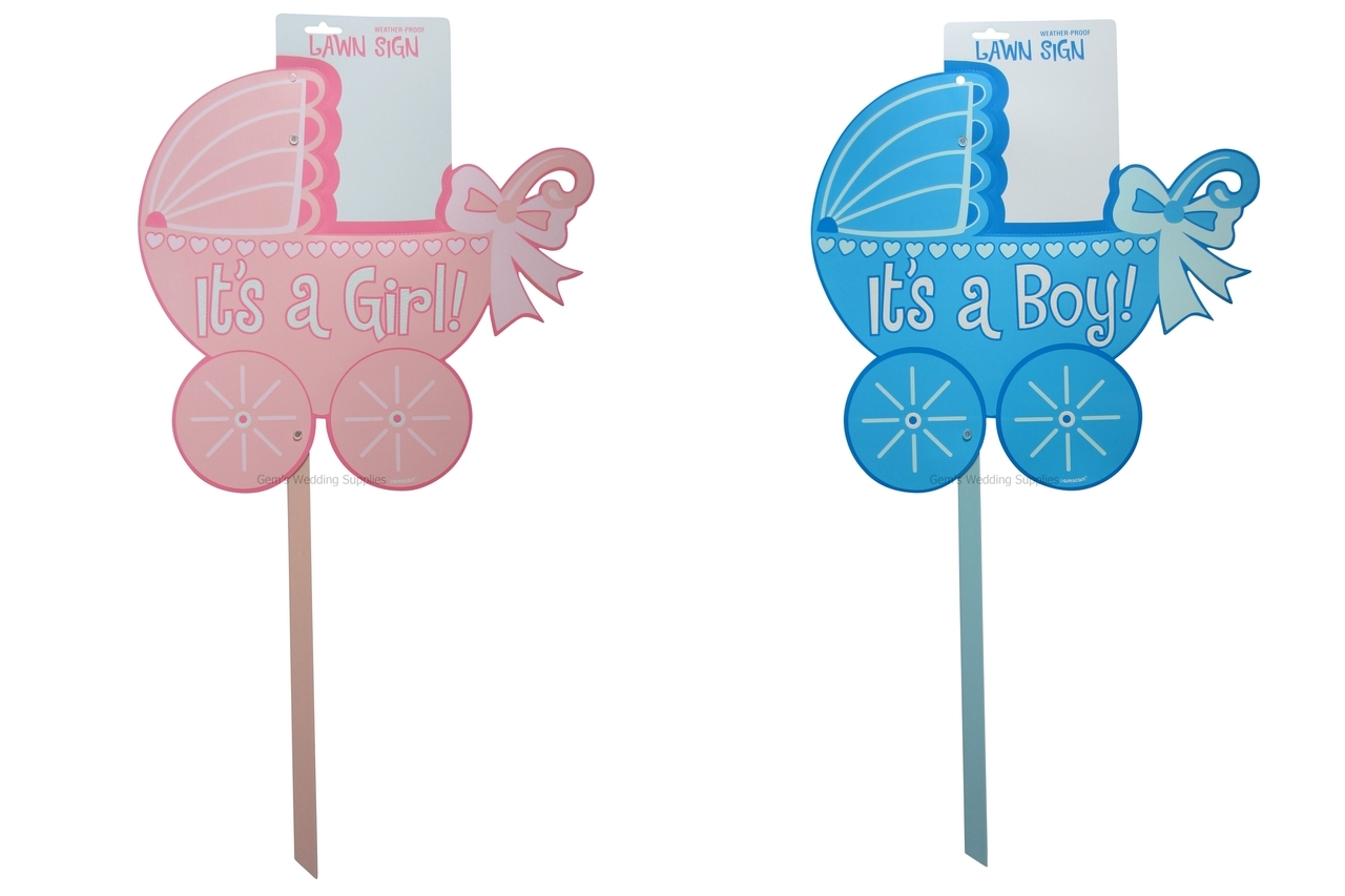 Baby Shower Lawn Sign