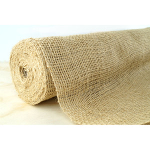 Hessian Burlap Material Roll for Vintage or Country Rustic Wedding Reception Table Decorations