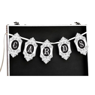 Wedding Cards Banner Reception Gift Table Decoration