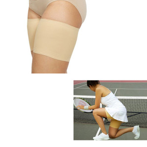 Beige Bandelettes Anti Chafing Unisex Thigh Bands Accessory