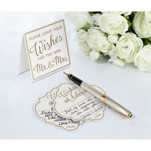 Wedding Wishes Advice Cards Alternative Guest Book