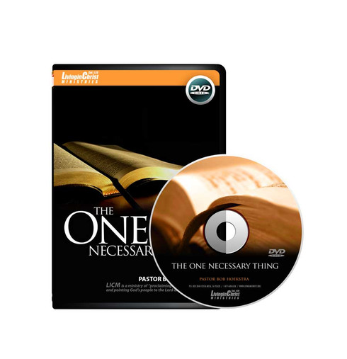 One Necessary Thing DVD Cover