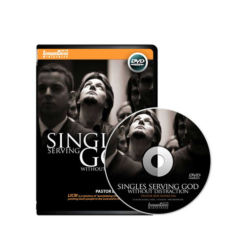 Singles Serving God without Distraction DVD Cover