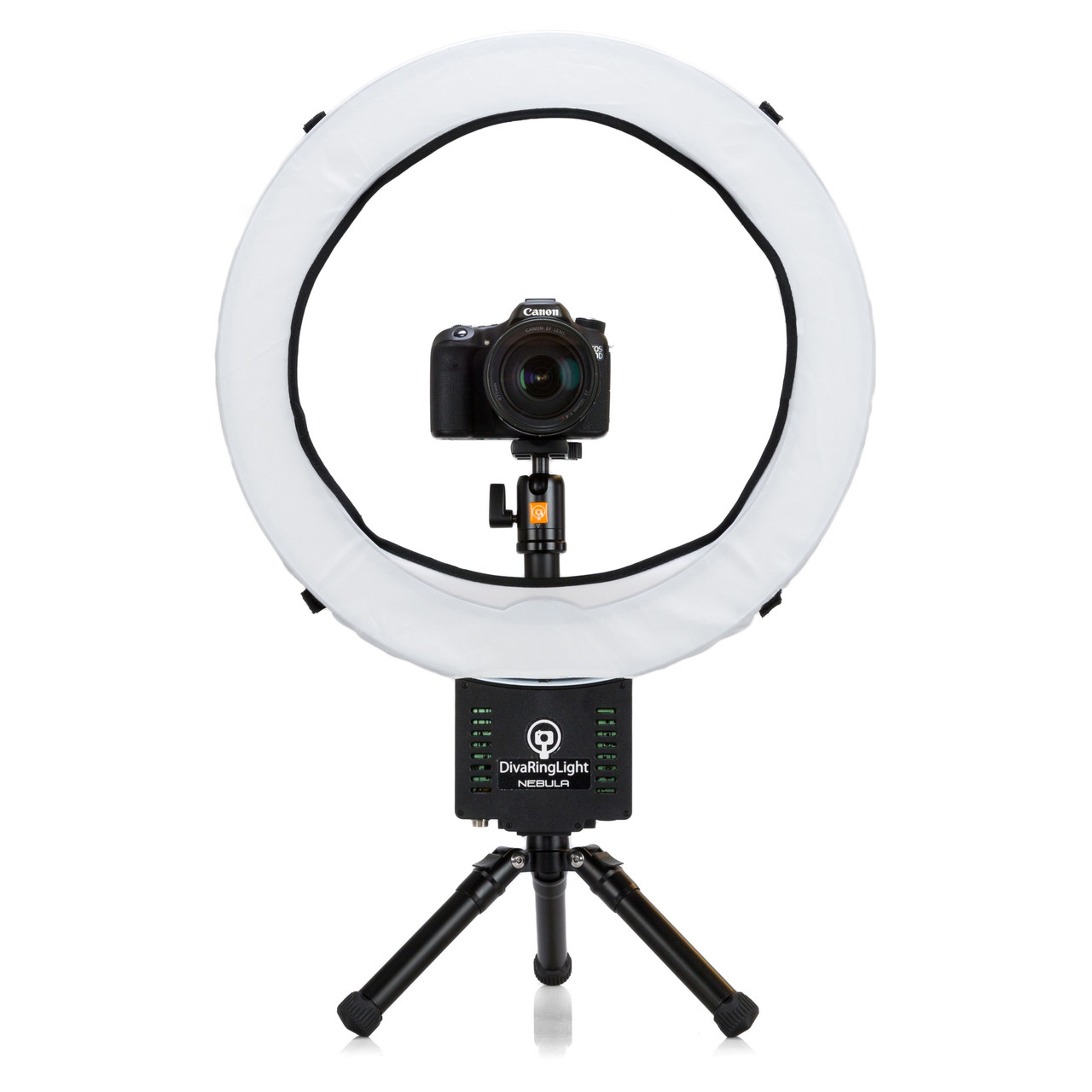 Diva Ring Light Nebula LED Photo//Video light with Video Tripod