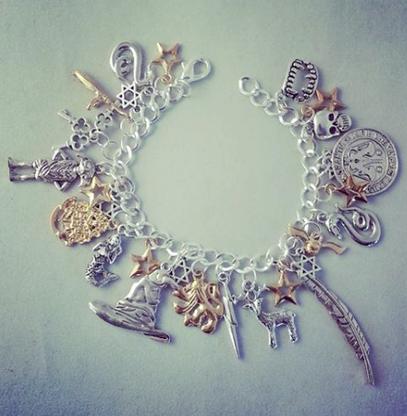 Deluxe Harry Potter Inspired Charm Bracelet - Cobalt Heights