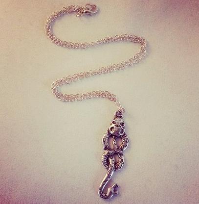 Harry Potter Dark Mark Inspired Necklace - Cobalt Heights