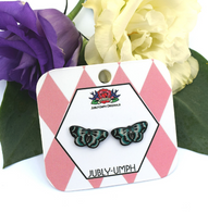 Jubly Umph Blue Butterfly Studs - Cobalt Heights