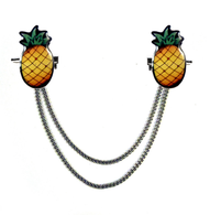 Jubly Umph Pineapple Cardigan Clips- Cobalt Heights