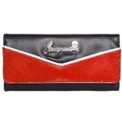 Sourpuss Monroe Wallet - Red - Cobalt Heights