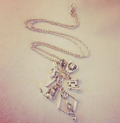 The Walking Dead Inspired Charm Necklace - Cobalt Heights