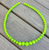 Gumball Bead Necklace 10 Colours Available - Lime Green - Cobalt Heights