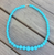 Gumball Bead Necklace 10 Colours Available - Havana Blue - Cobalt Heights